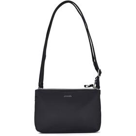 Pacsafe Stylesafe Double Zip Crossbody Bag black